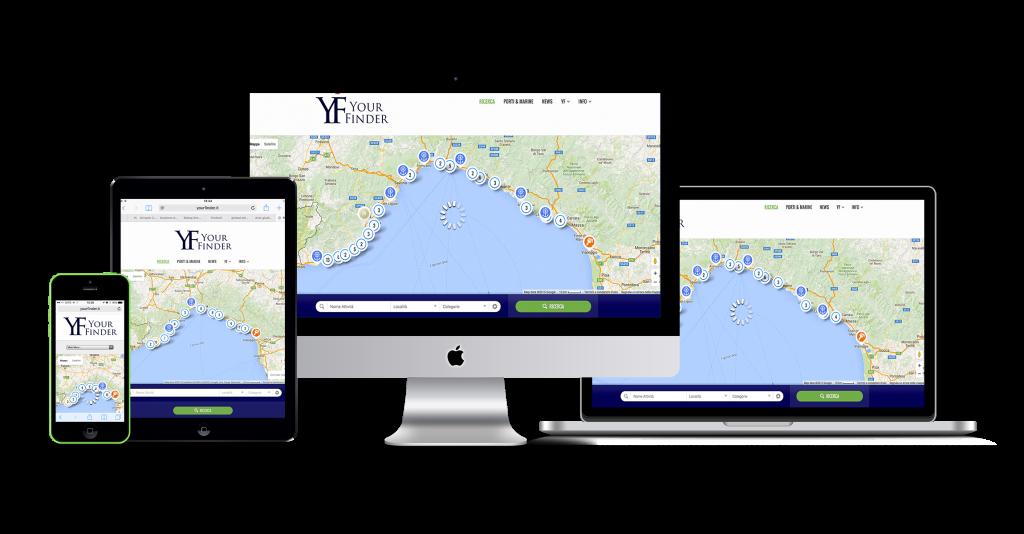 yourfinder.it - Your Finder - ricercha quello che ti serve attorno a te - mondo nautica