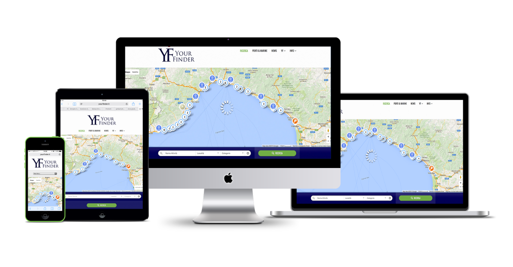 yourfinder.it - Your Finder - ricercha quello che ti serve attorno a te - mondo nautica