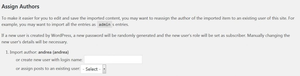 WP Tools Import WordPress Assign Authors